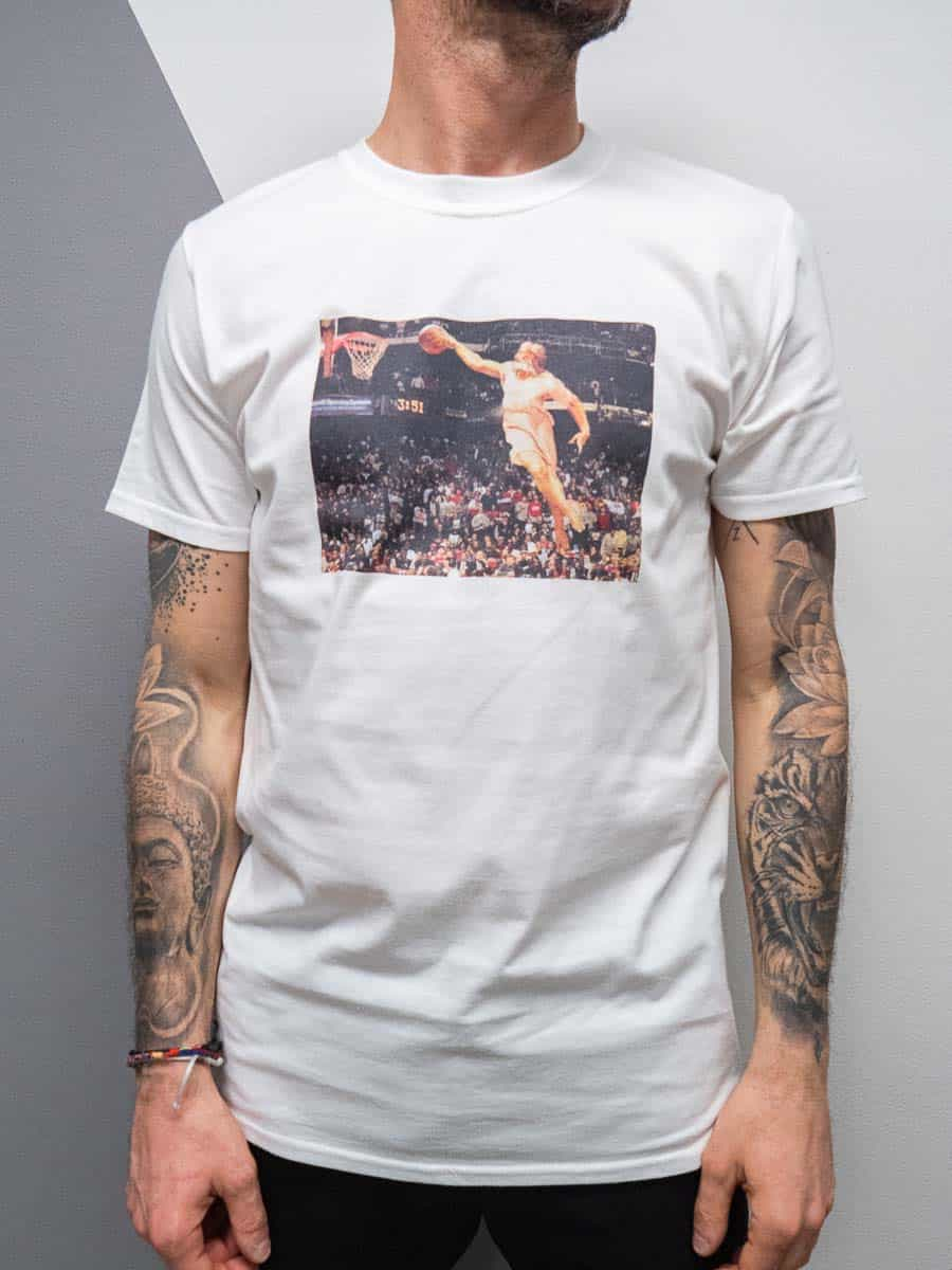 BAD MONDAY T-shirt stampa nba in cotone ICON NBA 2