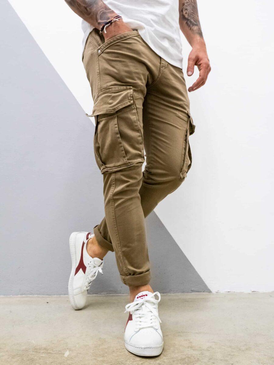 BERNA Pantalone con tasconi laterali 194011