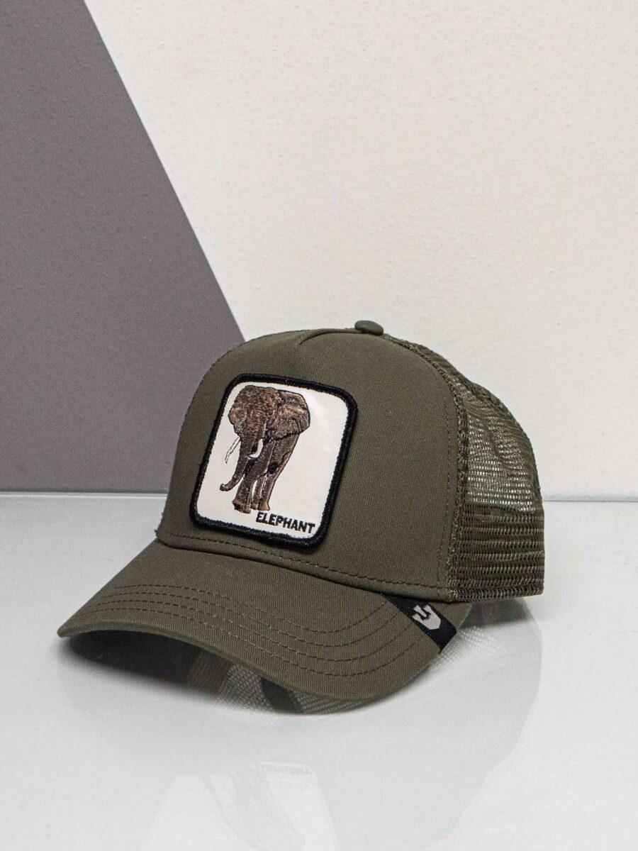 GOORIN BROS Cappellino con patch stampa elefante CP ELEPHANT