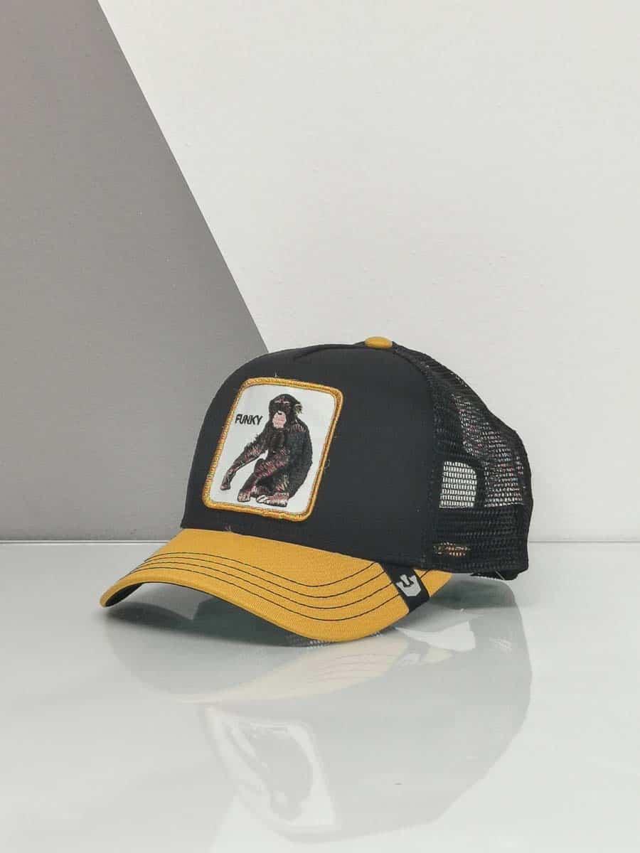 GOORIN BROS Cappellino con patch stampa scimmia CP FUNKY