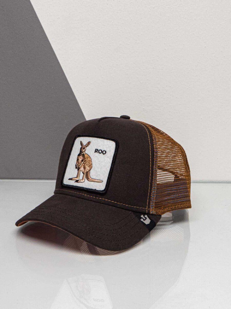 GOORIN BROS Cappellino con patch stampa canguro CP KANGAROO
