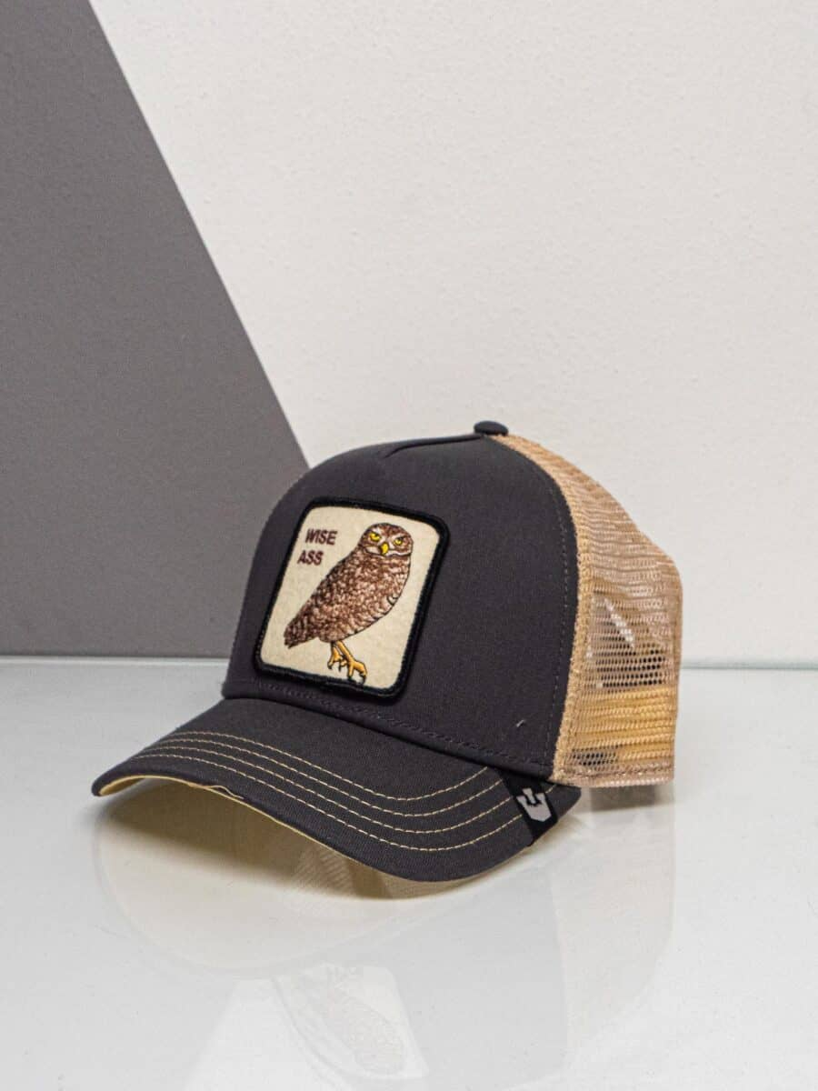 GOORIN BROS Cappellino con patch stampa gufo CP WISE ASS