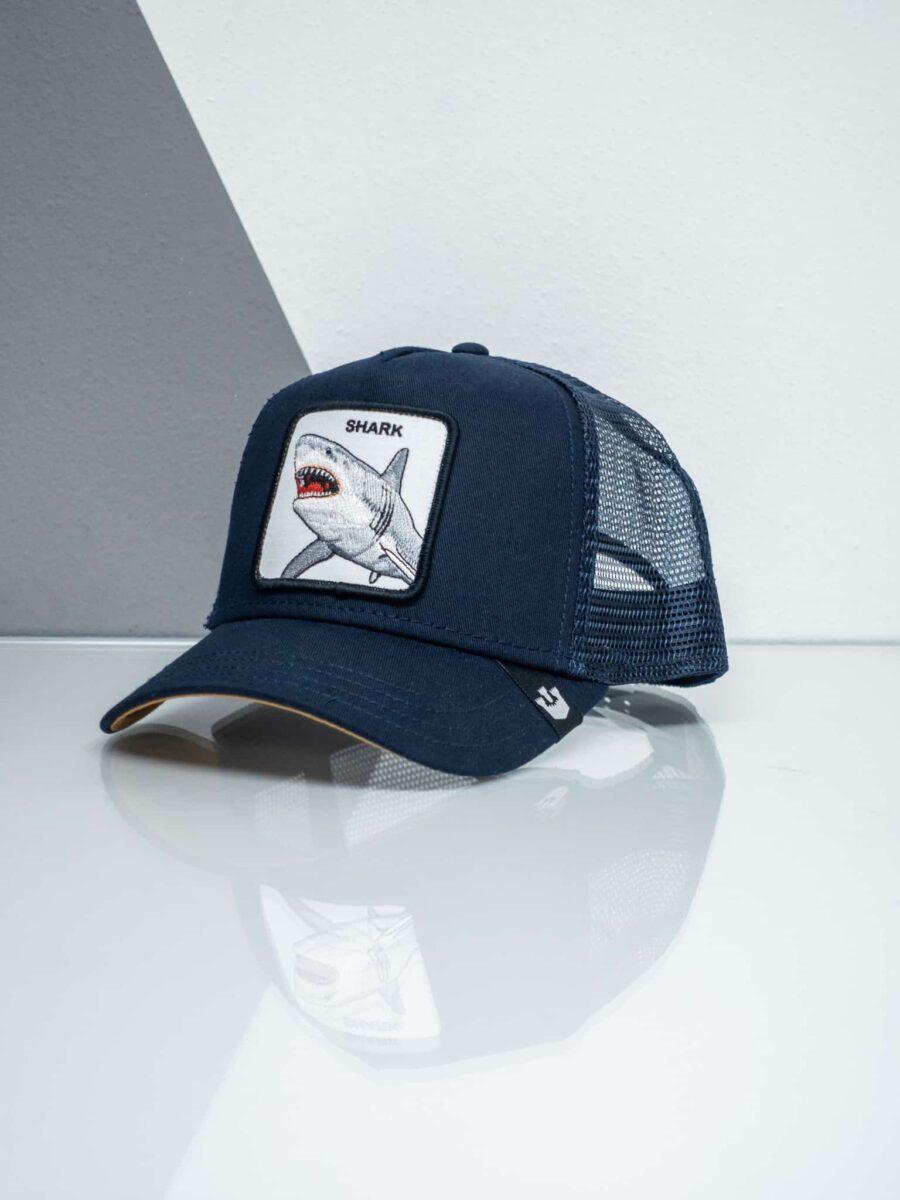 GOORIN BROS Cappellino con patch stampa squalo CP SHARK