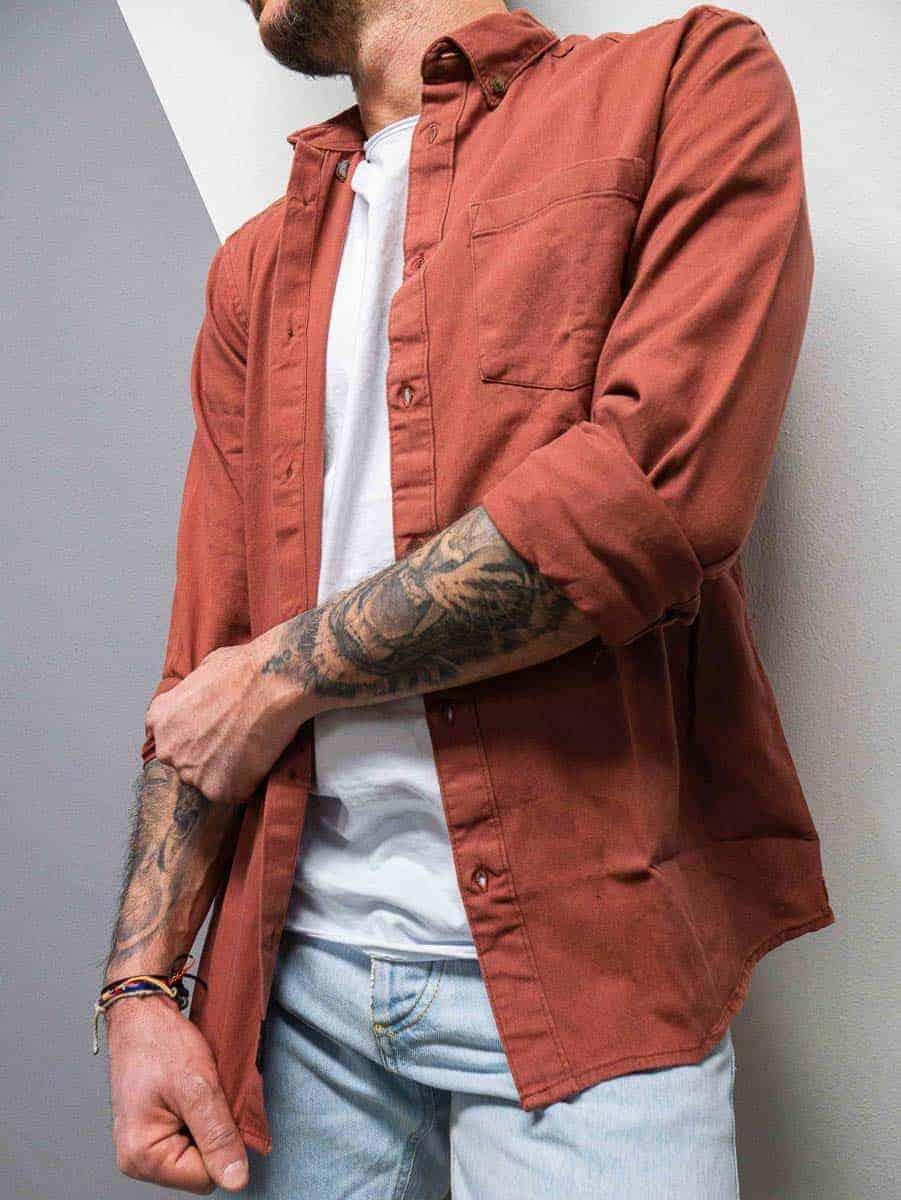 ONLY&SONS Camicia da mezza stagione con colletto e tasca frontale BRYCE 7285