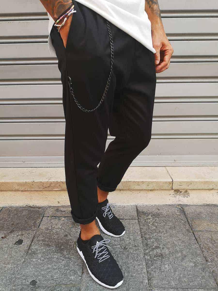 IMPERIAL Pantalone con cavallo morbido e catenella rimovibile PB51ABZ