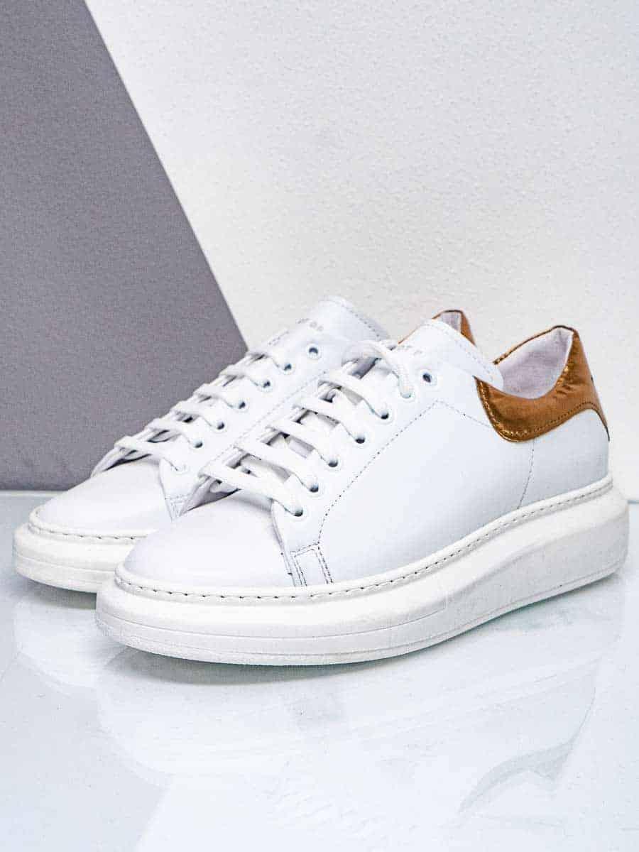 WHY NOT Sneakers gommata con inserto a contrasto sul tallone SNK40