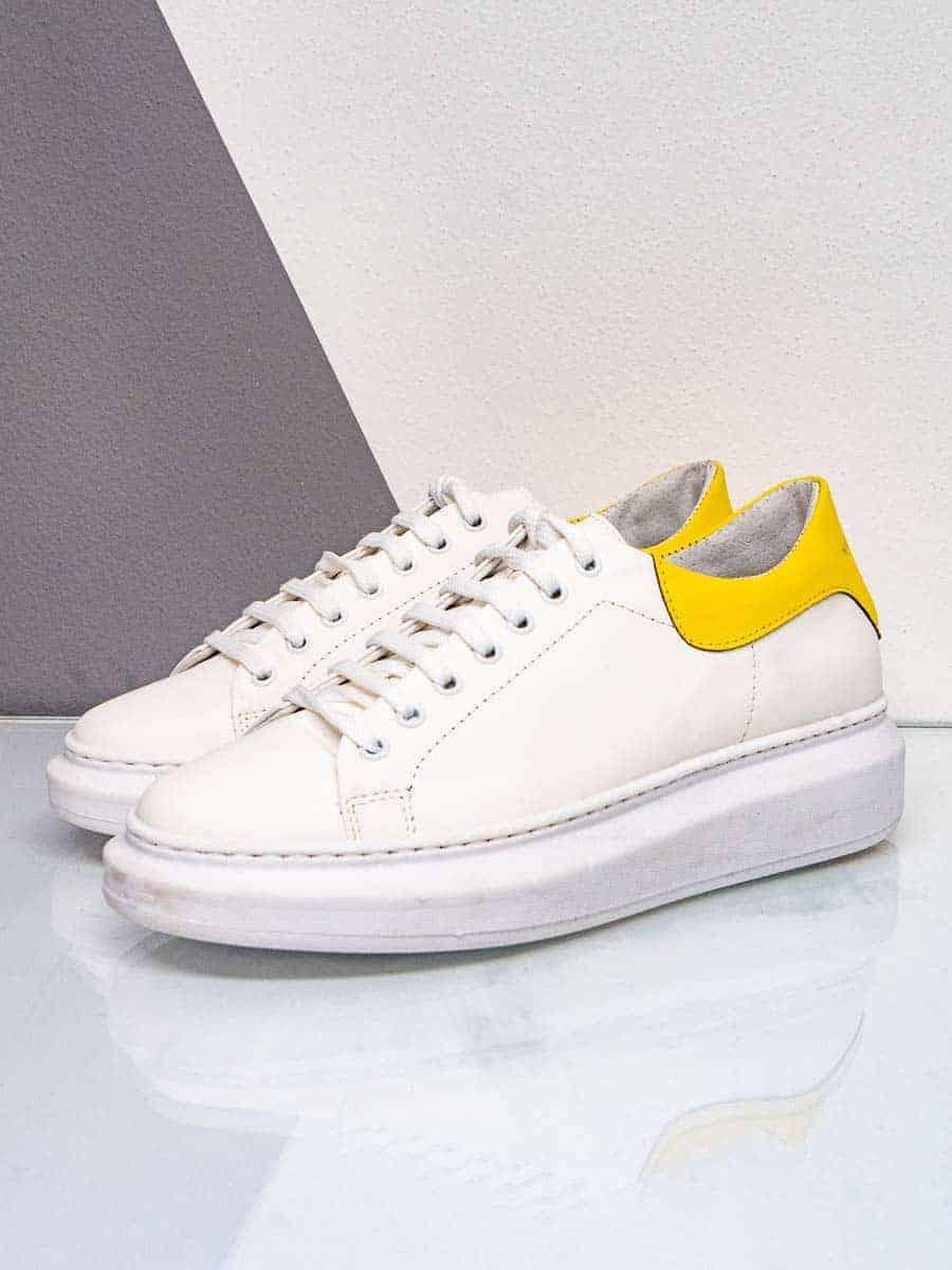 WHY NOT Sneakers gommata con inserto a contrasto sul tallone SNKR93