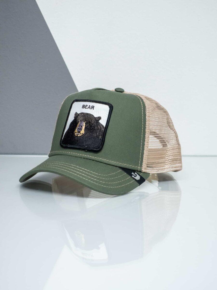 GOORIN BROS Cappellino con patch stampa orso CP BEAR