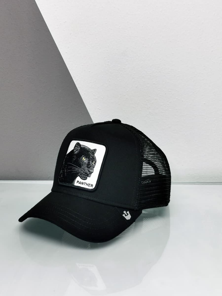 GOORIN BROS Cappellino con patch stampa pantera CP PANTHER