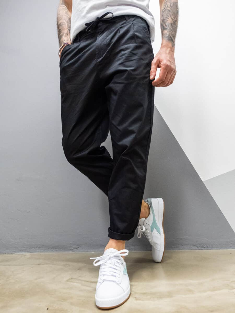 ONLY&SONS Pantalone casual con coulisse in vita DEW CASH 9208