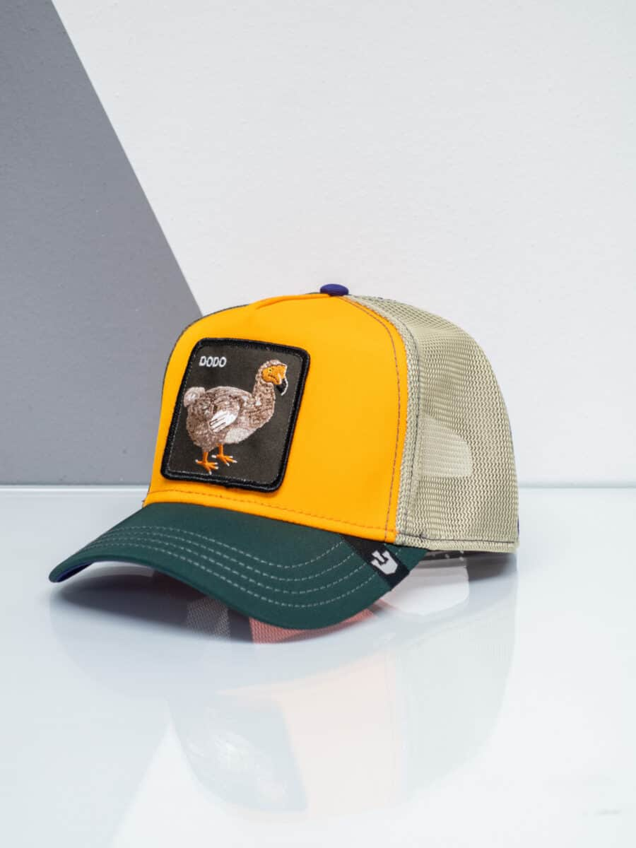 GOORIN BROS Cappellino con patch stampa DODO