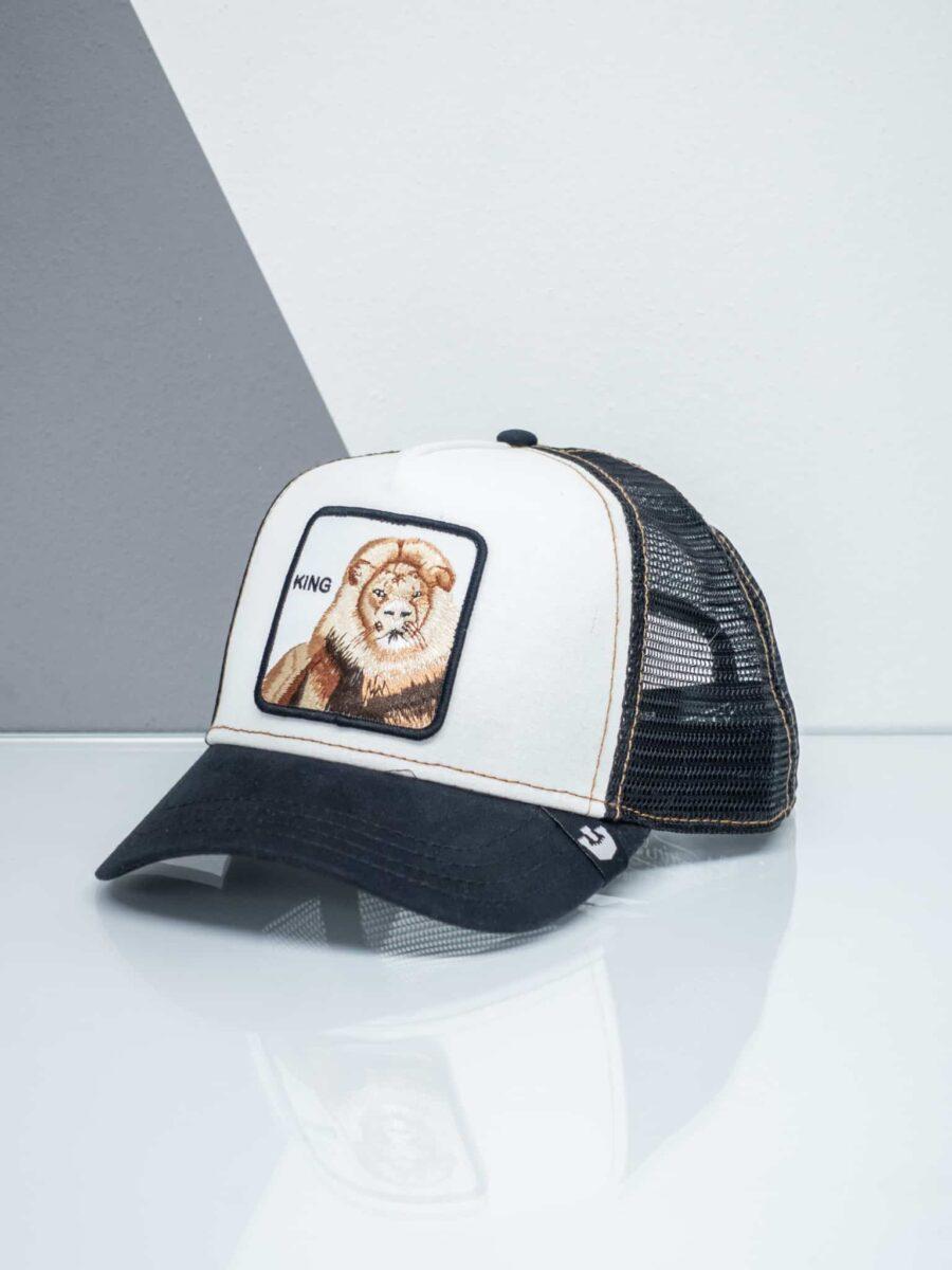 GOORIN BROS Cappellino con patch stampa leone CP KING