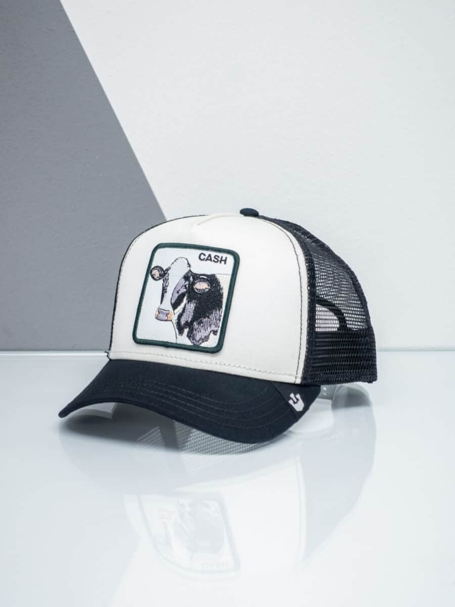 GOORIN BROS Cappellino con patch stampa mucca CP CASH