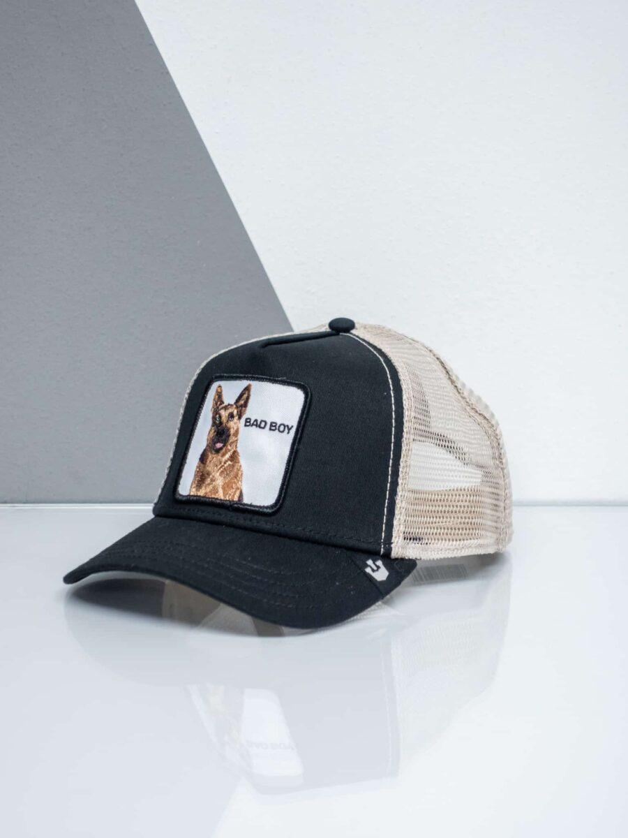 GOORIN BROS Cappellino con patch stampa pastore tedesco CP BAD BOY