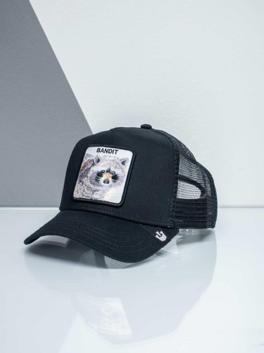 GOORIN BROS Cappellino con patch stampa procione CP BANDIT