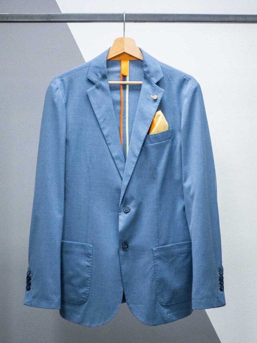 OVER-D Giacca da abito con tasche e pochette OM619GC