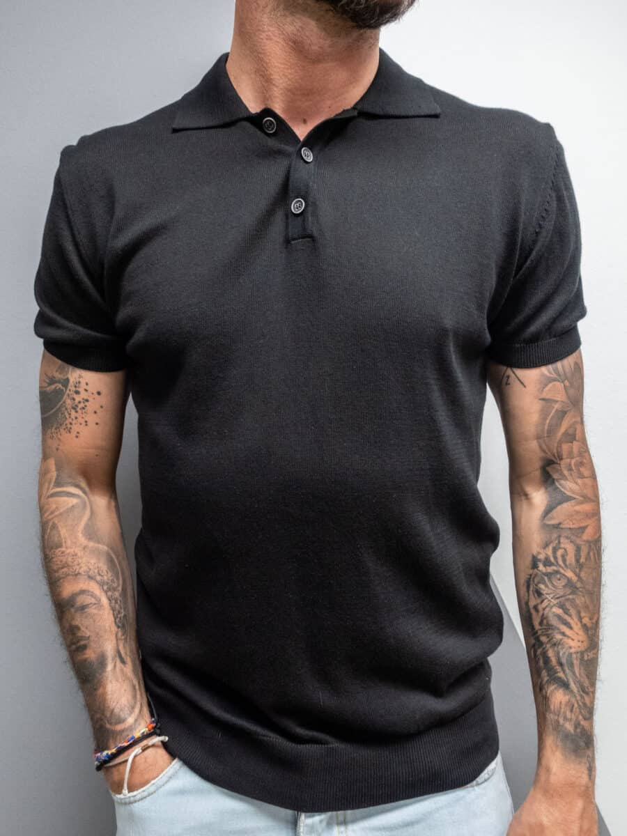 OVER-D  Polo in cotone OM546MG