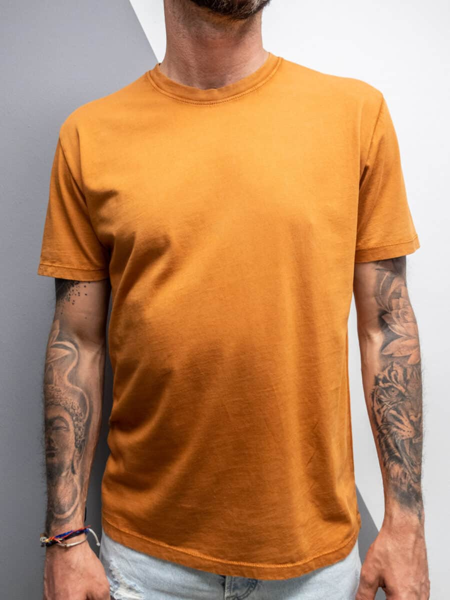 OVER-D T-shirt con linee lucide OM826TS