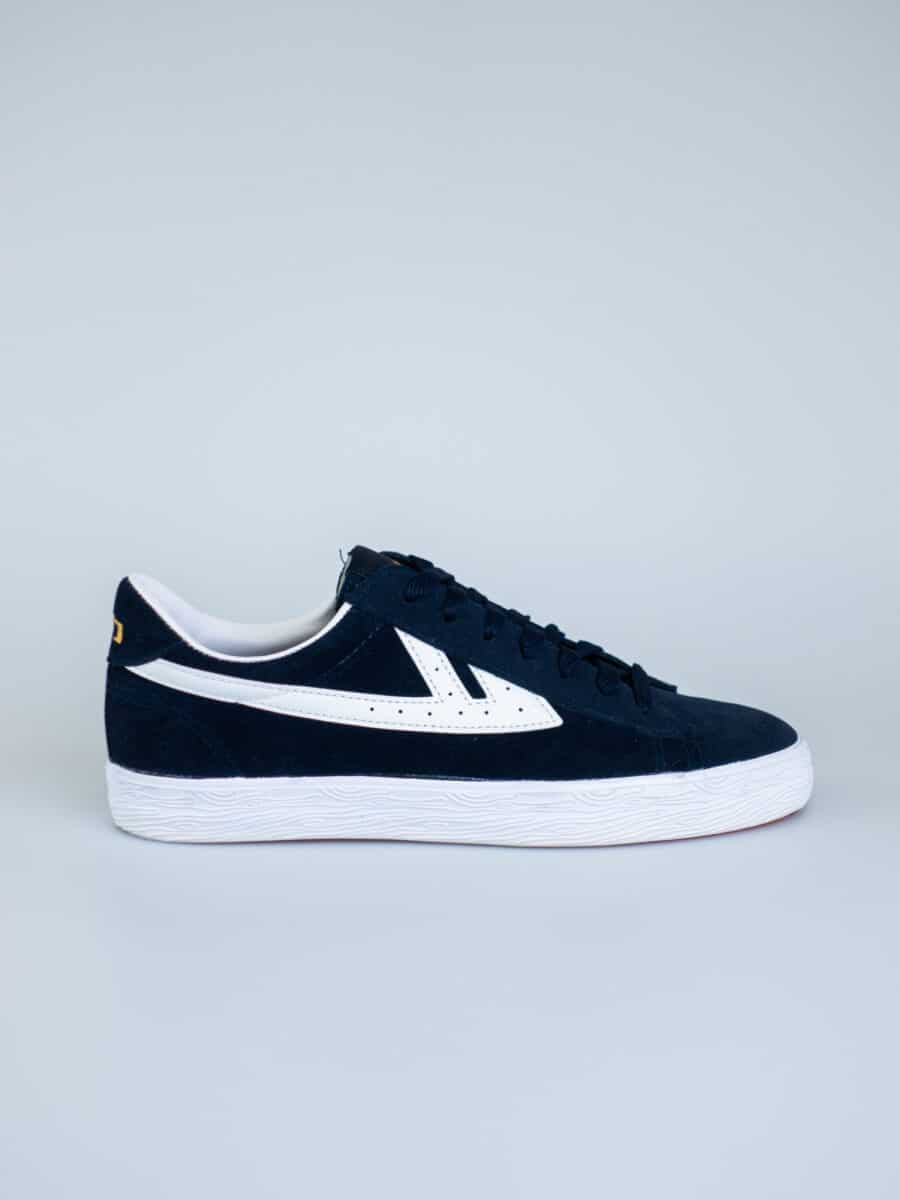 WARRIOR SHANGHAI Sneakers in suede con logo laterale DIME