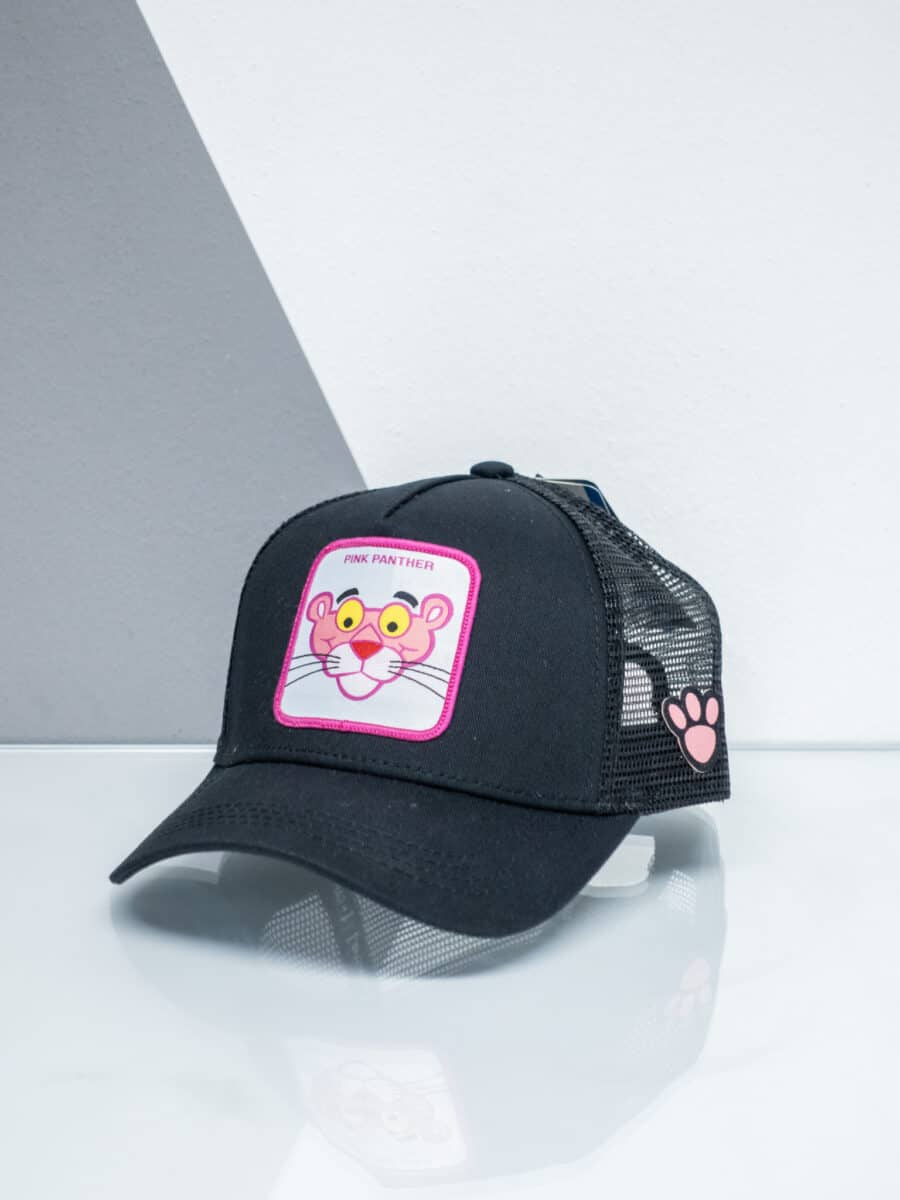 CAPSLAB Cappellino con patch stampa pantera rosa PINK PHANTER