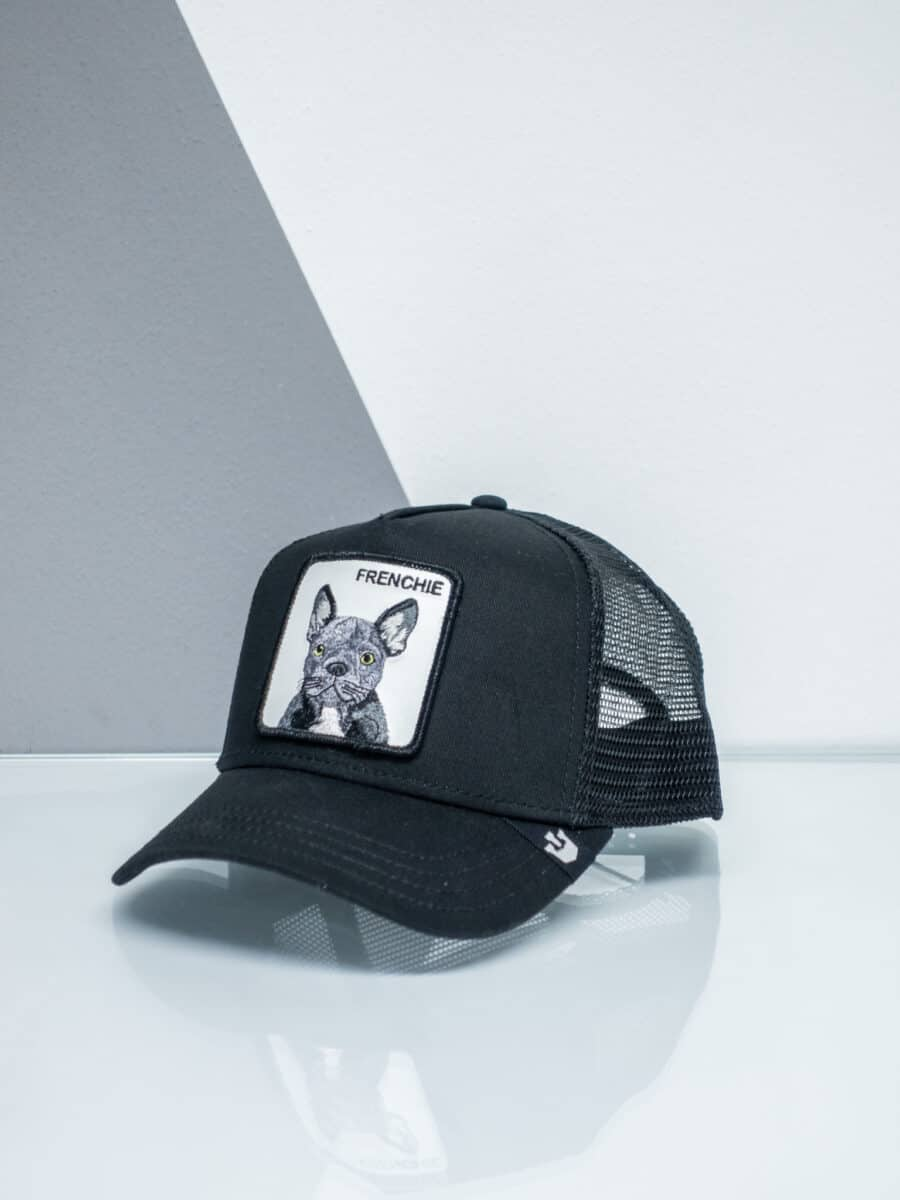 GOORIN BROS Cappellino con patch stampa bulldog francese CP FRENCHIE