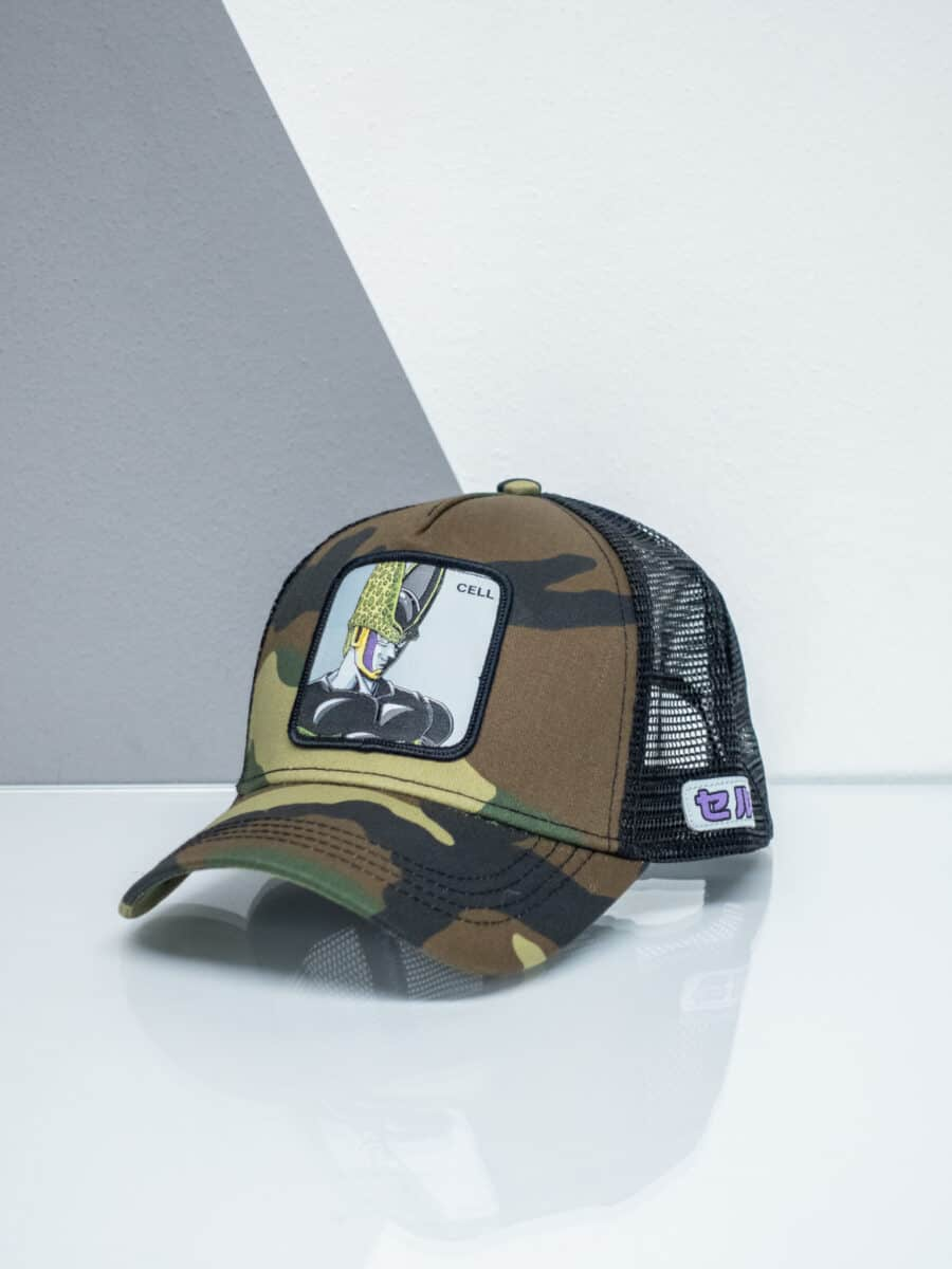 CAPSLAB Cappellino camouflage Dragon Ball CELL