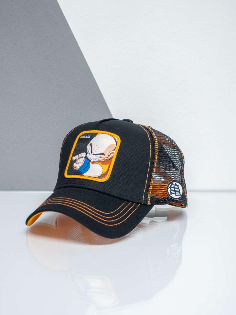CAPSLAB Cappellino nero Dragon Ball KRILLIN