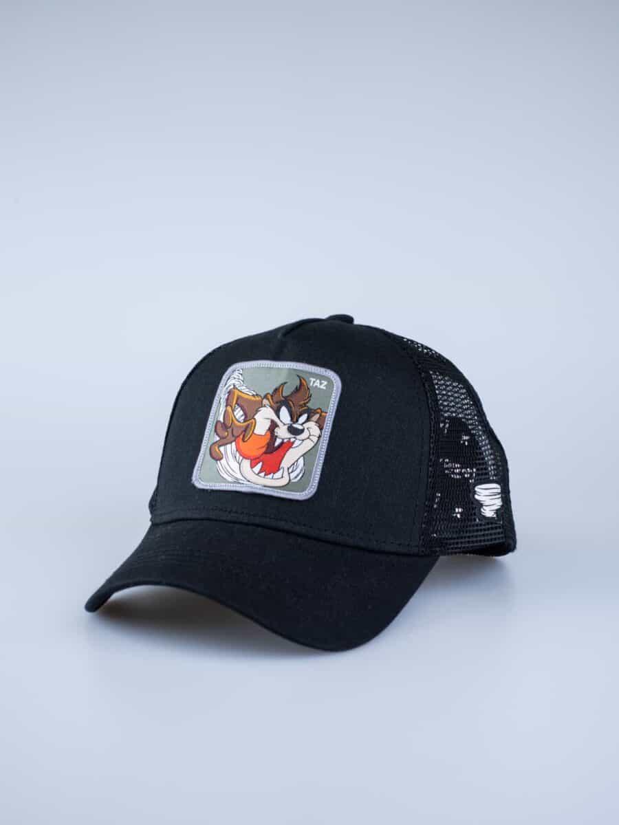 CAPSLAB Cappellino nero Looney Tunes patch verde TAZ