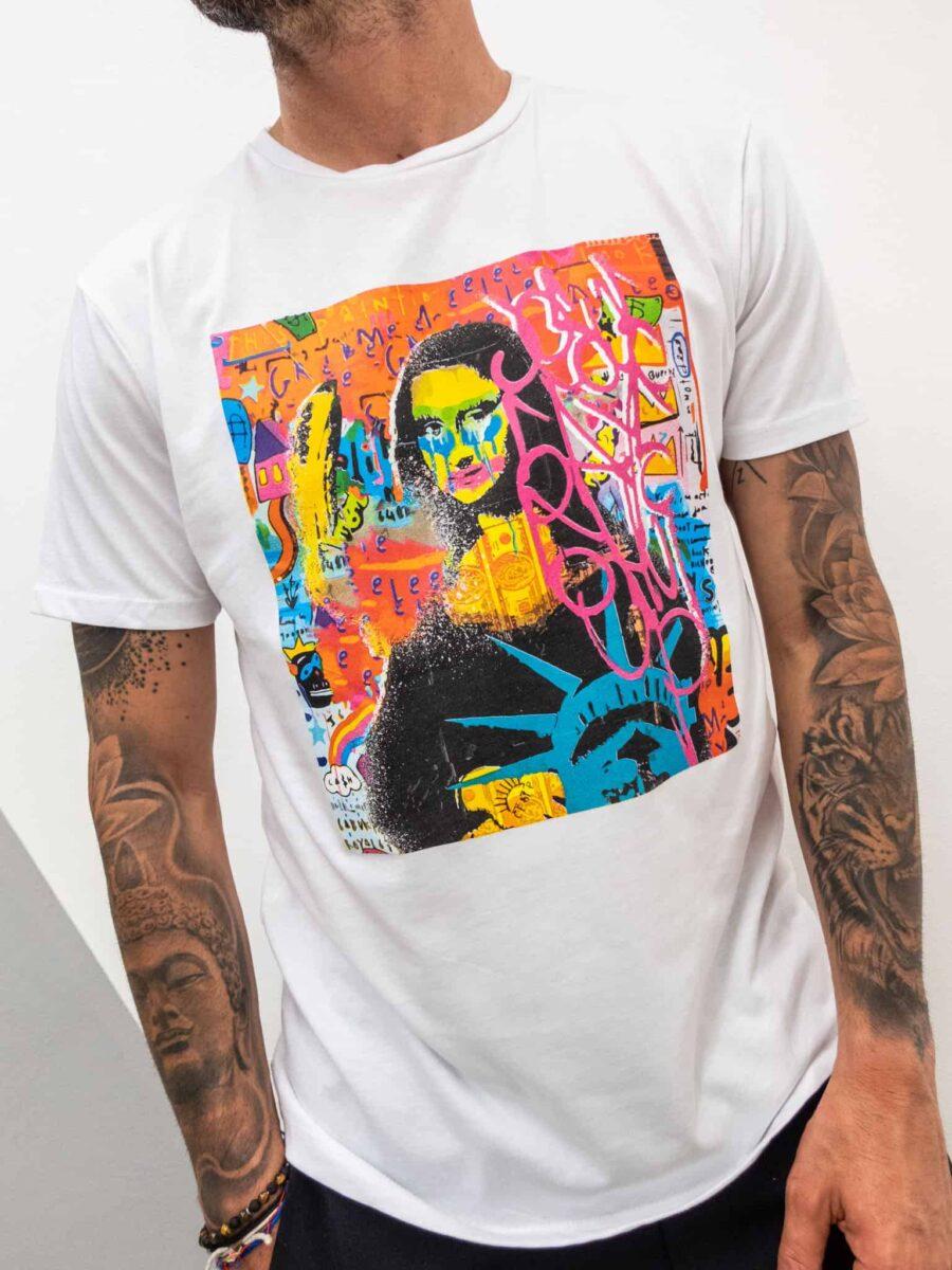 FORWARD MILANO T-Shirt con stampa MONNALISA 523