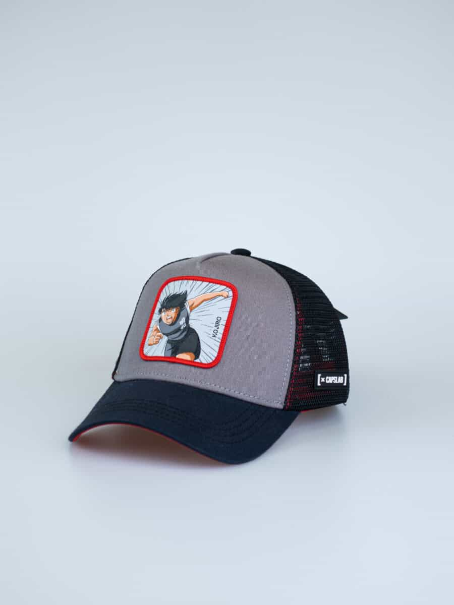 CAPSLAB Cappellino con patch stampa Holly e Benji MARK LENDERS