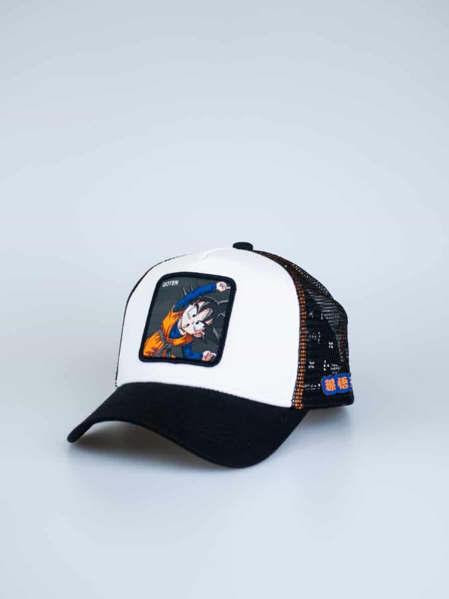 CAPSLAB Cappellino con patch stampa dragon ball GOTEN