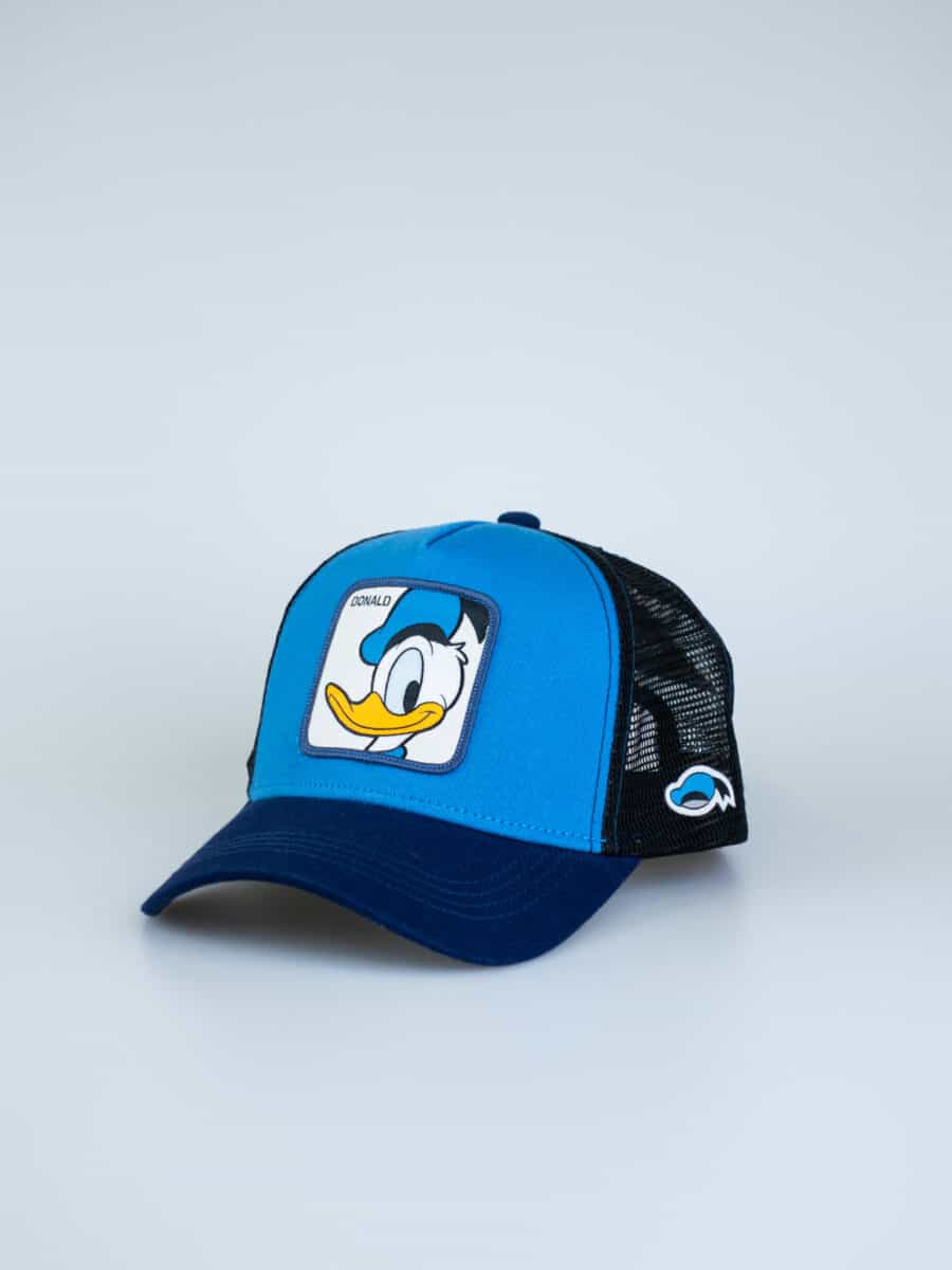 CAPSLAB Cappellino con patch stampa looney tunes DONALD