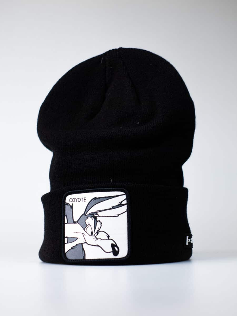 CAPSLAB Cuffia con patch stampa looney tunes WILLY COYOTE