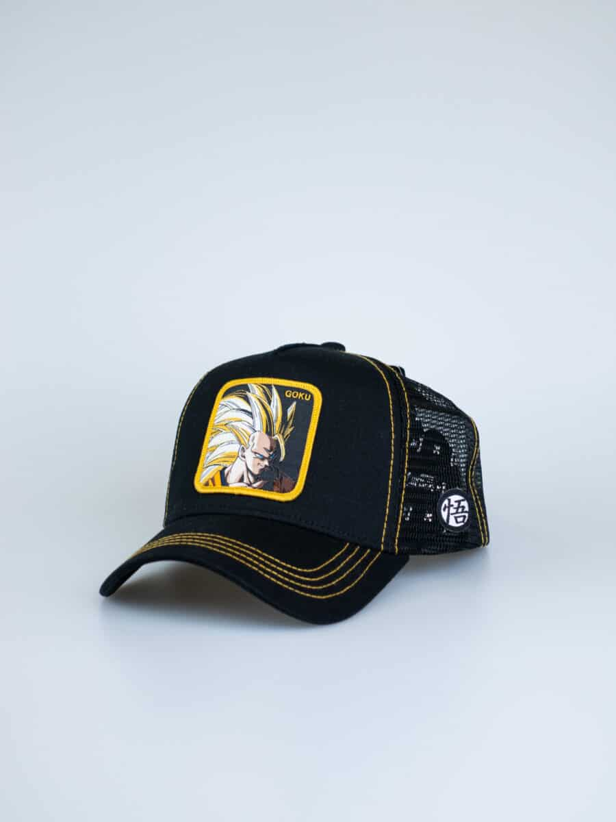 CAPSLAB Cappellino con patch stampa Dragon Ball GOKU 3 LV.