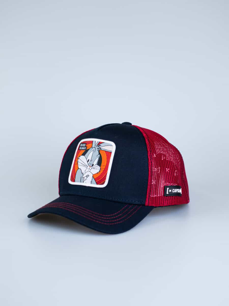 CAPSLAB Cappellino con patch stampa looney tunes BUGS BUNNY