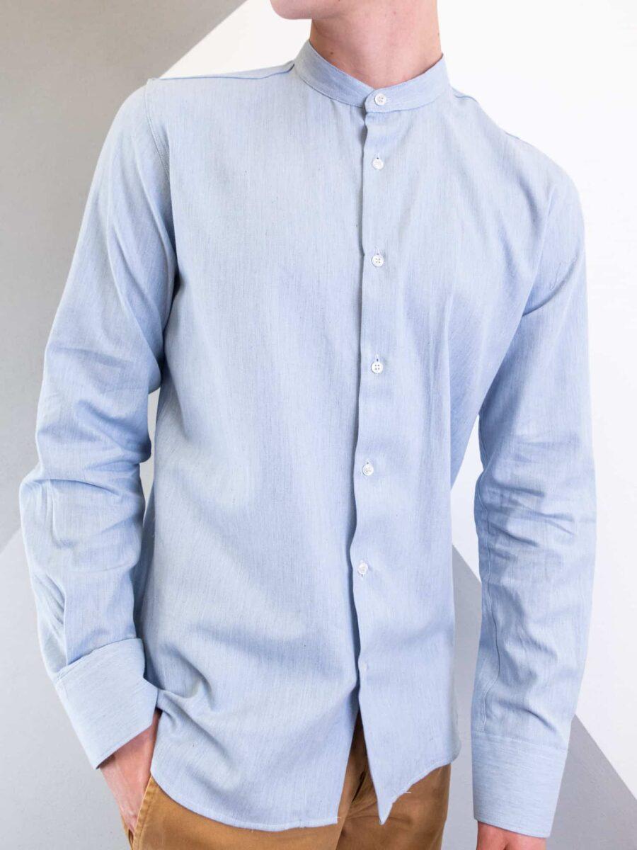 ESTASI Camicia coreana in flanella HAMILTON